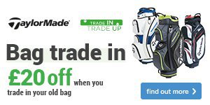 Get £20 off a new TaylorMade bag